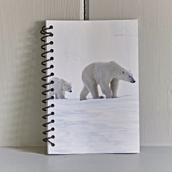 Small Polar Bear Note Book
