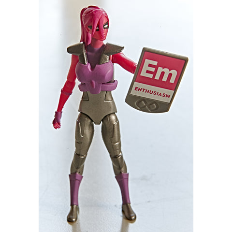 Enthusiasm Action Figure - IAmElemental