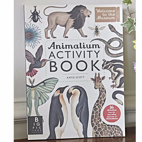Animalium Activity Book front