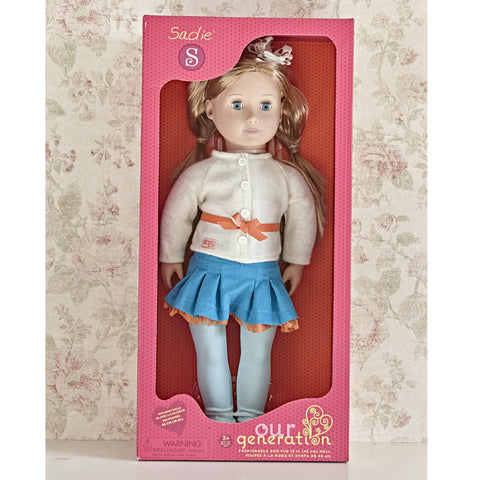 Sadie - Our Generation Doll. Boxed.