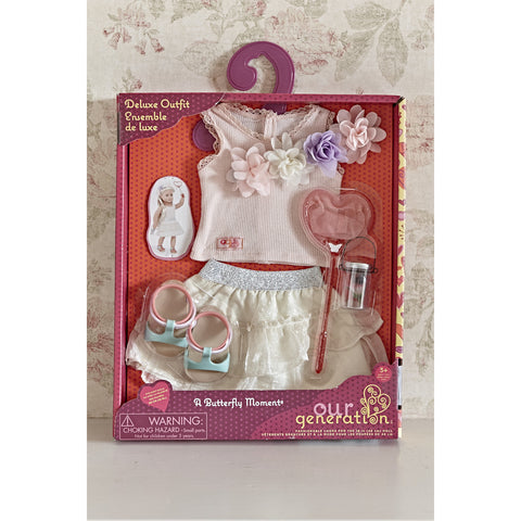 A Butterfly Moment Deluxe Outfit - Our Generation, boxed