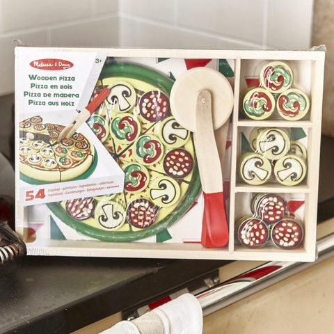 Pizza - Wooden Play Food