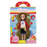 Young Inventor Lottie Doll, boxed, straight on