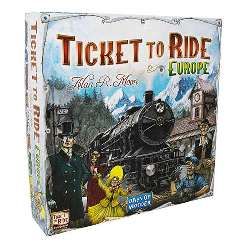 Ticket To Ride: Europe boxed