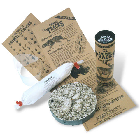 Animal Tracks Casting Kit, out of tube , contents