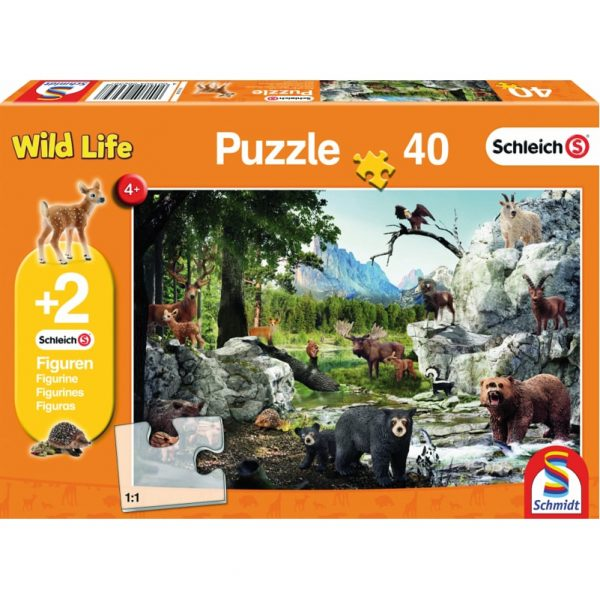 Animals of the Forest Puzzle, boxed front view