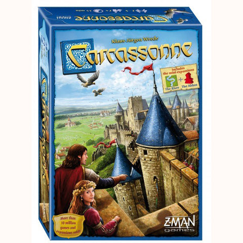 Carcassonne, front of box