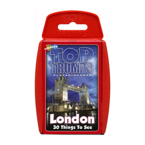 London 30 Things To See - Top Trumps Game,  boxed