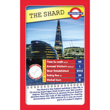 London 30 Things To See - Top Trumps, sample card The Shard