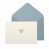 Bee Boxed Notecards - Portico, card with envelope