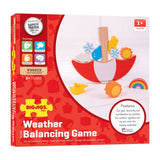 Weather balancing game, box