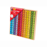 Times Table Tray, packaged