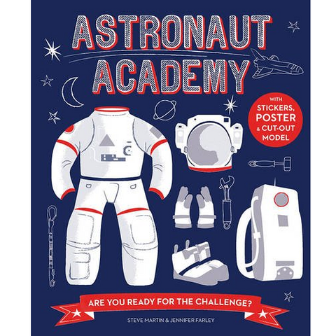 Astronaut academy front cover