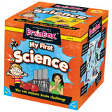 My first science brain box, boxed