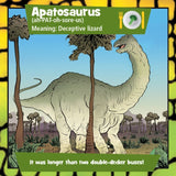 Brain Box - Dinosaurs, sample card