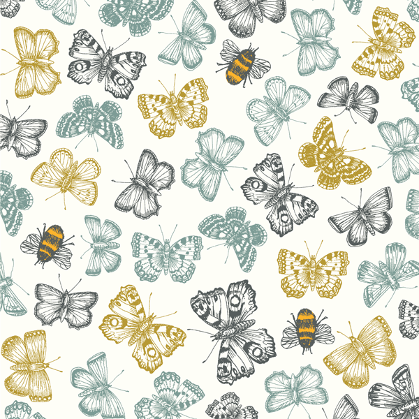 Butterflies & Bees Greeting Card - Eden Project