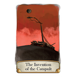 Timeline - Inventions Card Game, catapult card