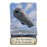 Timeline - Inventions Card Game, zeppelin card
