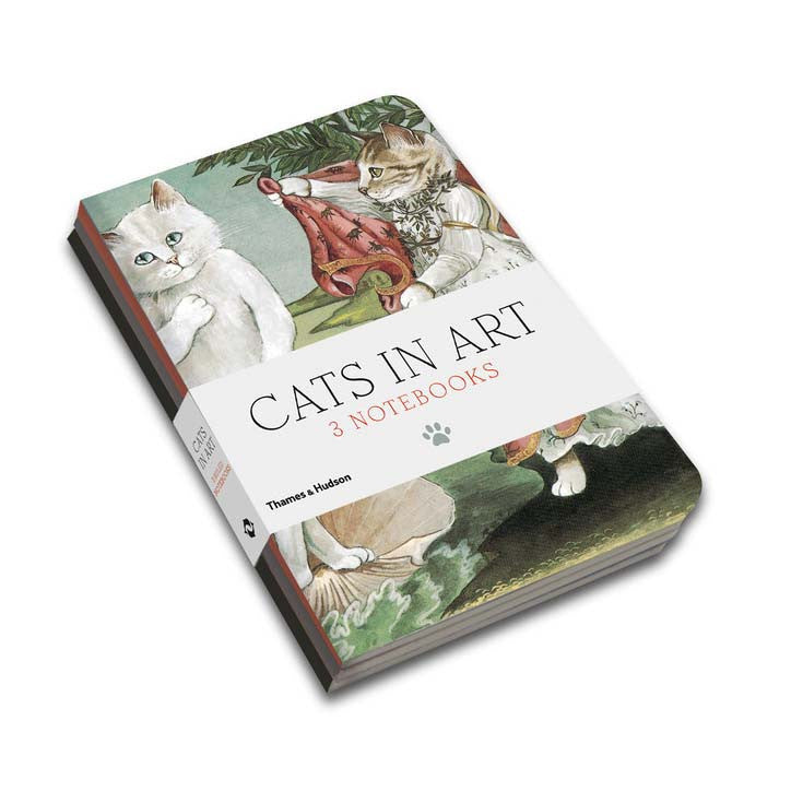 Cats in Art: Set of 3 Notebooks