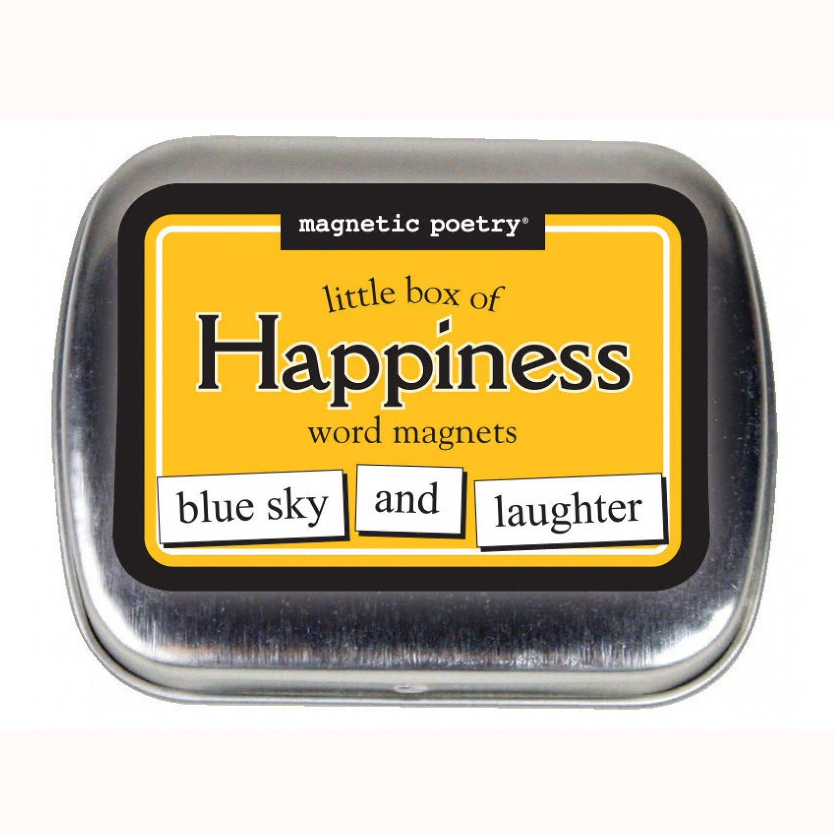 Magnetic Poetry Little Box of Words: Happiness
