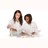 Crystal Growing Experiment Kit, girls experimenting