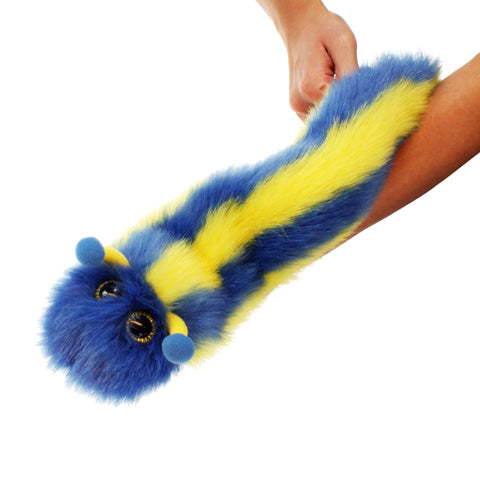 Wigglers - Chivers Puppet caterpillar on arm