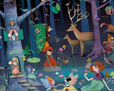 Enchanted Forest Observation Puzzle, detail