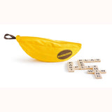 Bananagrams, bag and some tiles