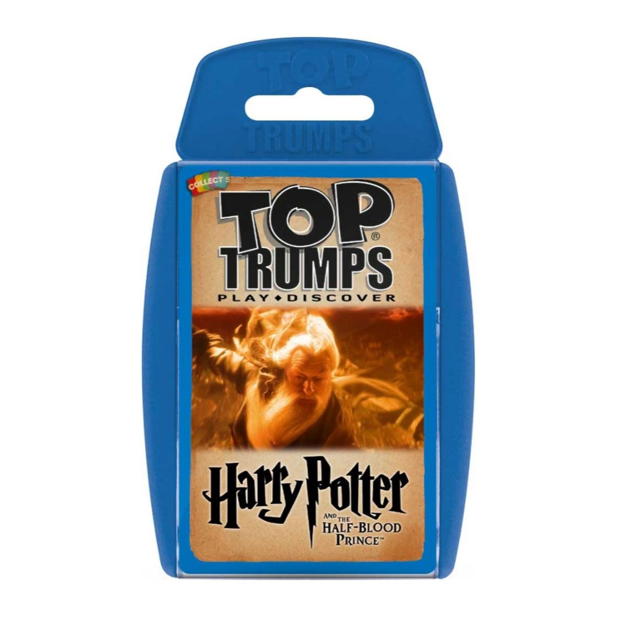 Harry Potter Half-blood Prince - Top Trumps, front of box