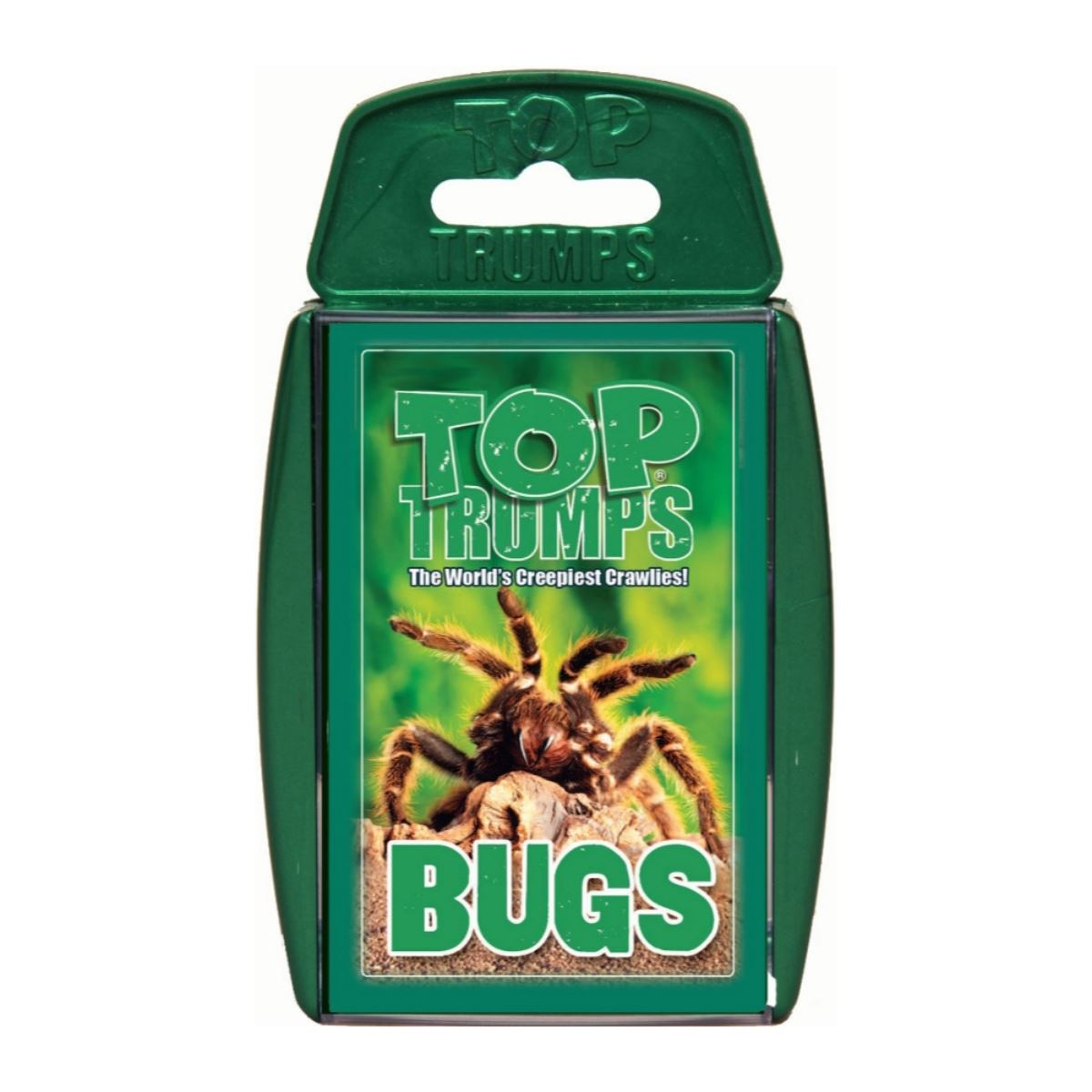 Bugs -Top Trumps Game, front of box