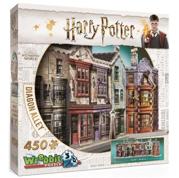 Diagon Alley 3D Puzzle, boxed