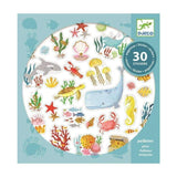 Aqua dream stickers, pack front