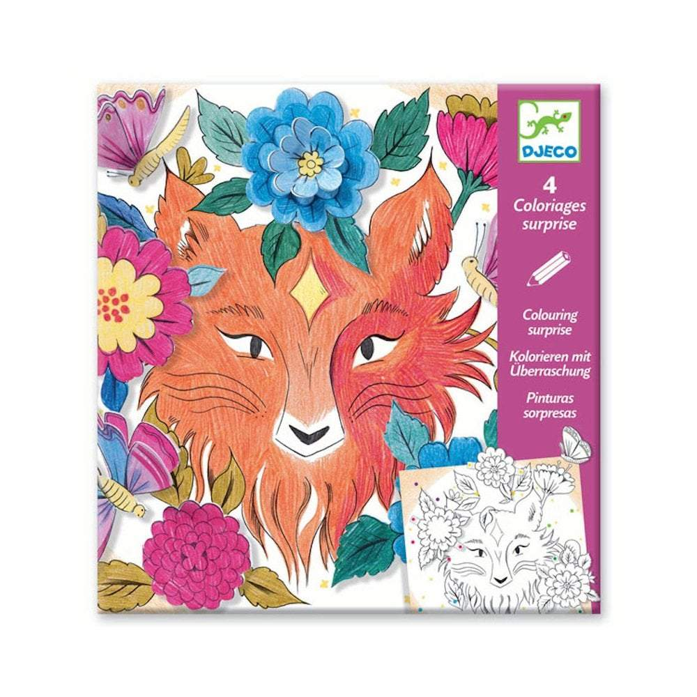 Forest Friends - Colouring Surprises by Djeco, front of pack