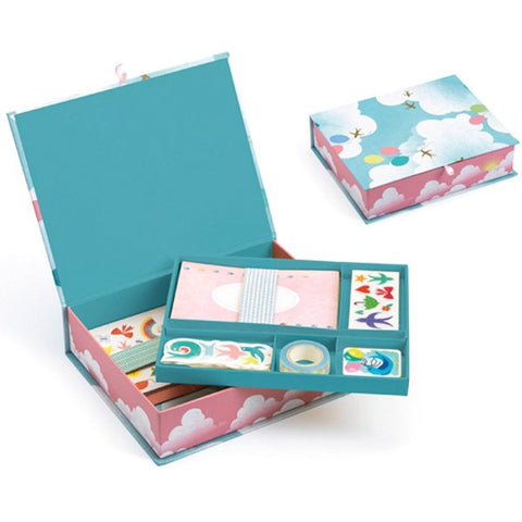 My Stationery Box  - Charlotte, set shown open and closed