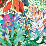Rainbow Tigers Gallery Puzzle, detail