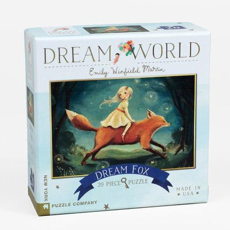 Dream Fox - Mini Jigsaw Puzzle, front of box