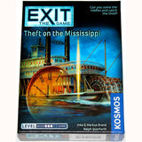 Exit game theft on mississipi , front of box, angled