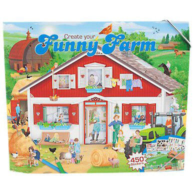 Create Your Funny Farm Sticker book