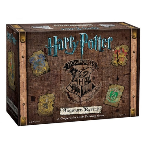 Hogwarts Battle - A Co-operative Deck Building Game, boxed