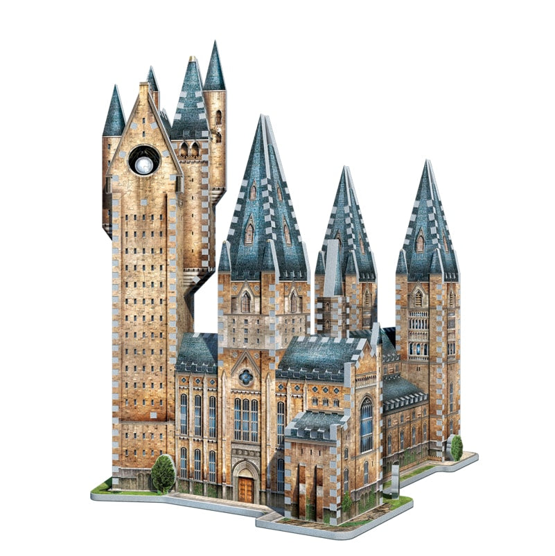 Hogwarts Astronomy Tower 3D Puzzle, finished  model