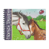Horses Dreams Colouring Book