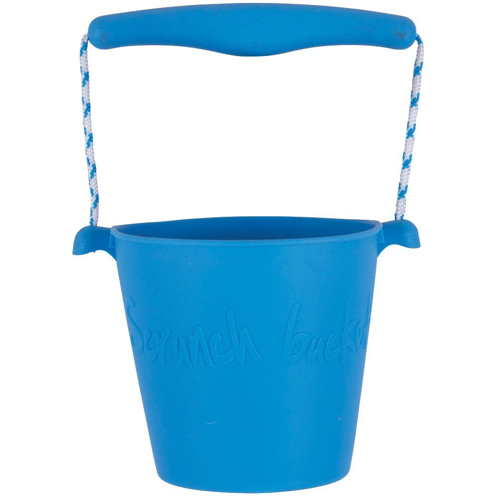 Blue Scrunch Bucket