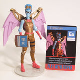 Exploration Action Figure - IAmElemental - Series II / Wisdom, posed on stand and with card