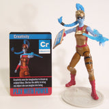 Creativity Action Figure - IAmElemental - Series II / Wisdom, on her stand with card