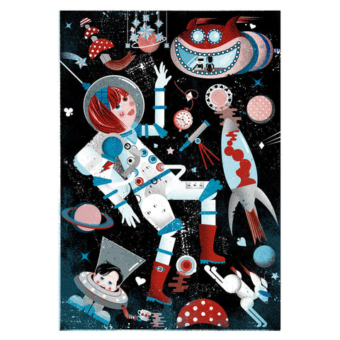 Greeting Card - Astronaut