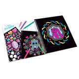 Ylvi Mandala Colouring Book (+ Stickers), inside page & stickers