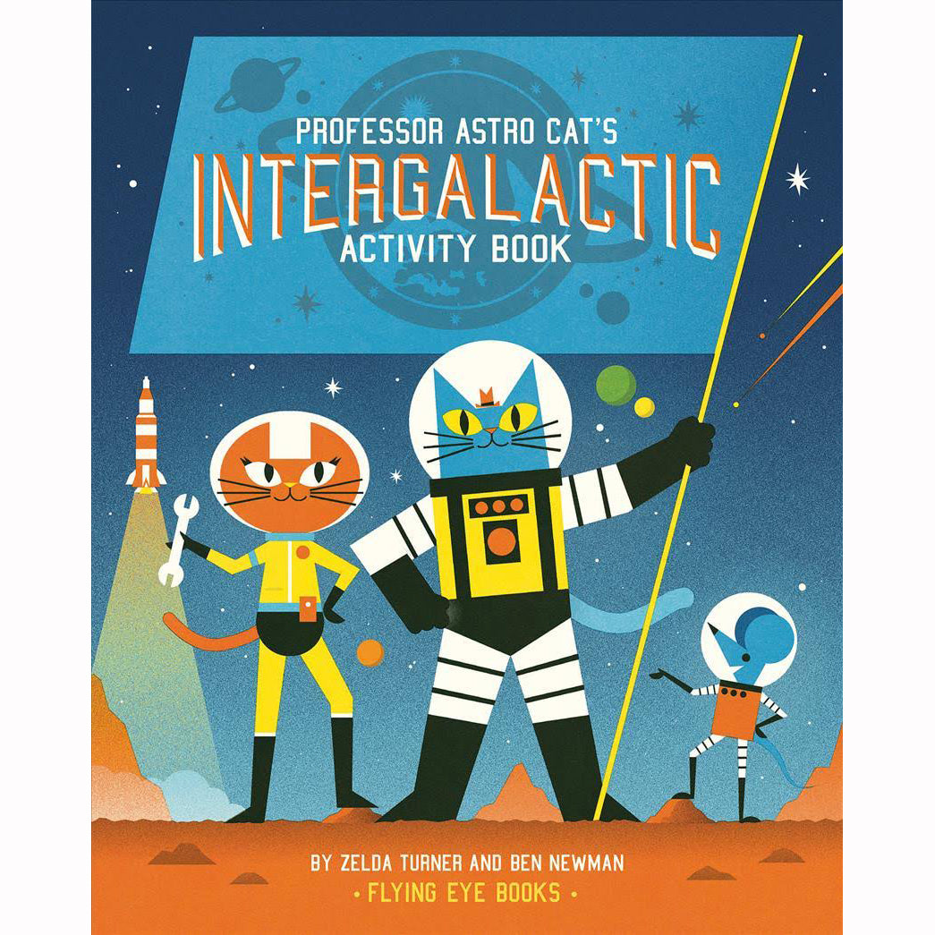 Professor Astro Cat's Intergalactic Activity Book, front cover