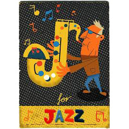 Letter J card from memory matching game Paul thurlby