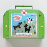 Puppy Love Sewing Kit - Buttonbag, boxed
