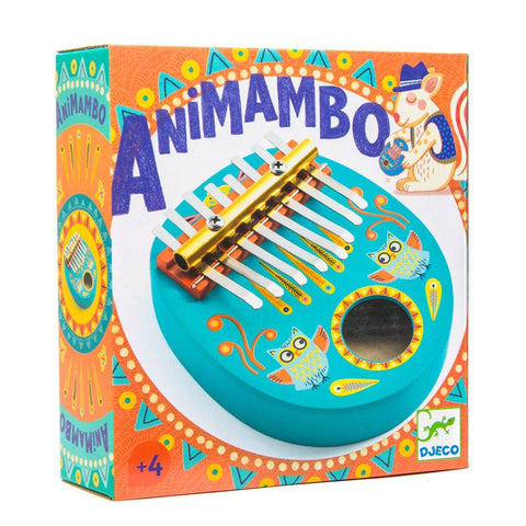 Kalimba (thumb piano), boxed